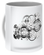 Cloud Made By Gears Wheels  Coffee Mug