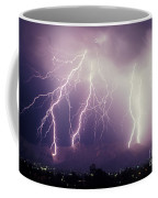 Cloud To Ground Lightning Coffee Mug