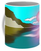 Clouded Sunrise Coffee Mug