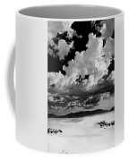 Clouds Above White Sands Coffee Mug