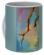 Clouds And Branches Of Life Coffee Mug