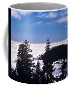 Clouds At Sequoia National Park Coffee Mug