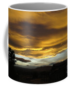 Clouds Illuminated At Sunset Coffee Mug