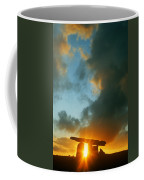 Clouds Over A Tomb, Poulnabrone Dolmen Coffee Mug