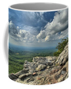 Clouds Over The Cliff Coffee Mug