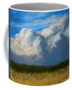 Clouds Over The Meadow Coffee Mug by Jack Skinner