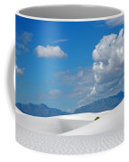 Clouds Over The White Sands Coffee Mug