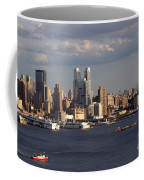 Clouds Rolling In On New York City Coffee Mug