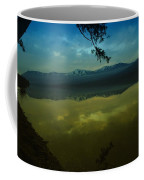 Clouds Trying To Dance In Still Water Coffee Mug