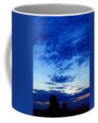 Cloudy Blue Monument Coffee Mug