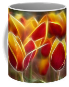 Cluisiana Tulips Fractal Coffee Mug
