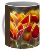 Cluisiana Tulips Triptych Panel 2 Coffee Mug