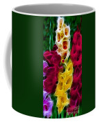 Cluster Of Gladiolas Fractal Coffee Mug