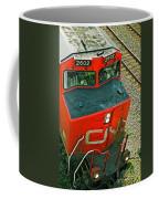 Cn Train Cab Coffee Mug