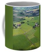 Co Fermanagh, Ireland Aerial View Of Coffee Mug