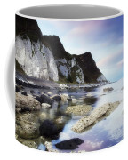 Coast Between Carnlough & Waterfoot, Co Coffee Mug