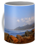 Coast Line California Coffee Mug by Susanne Van Hulst