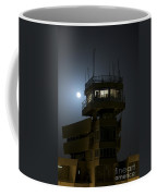 Cob Speicher Control Tower Under A Full Coffee Mug by Terry Moore