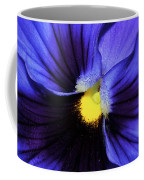 Cobalt Blue Pansy Coffee Mug
