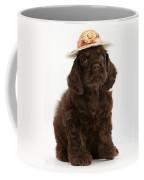 Cocker Spaniel Wearing A Hat Coffee Mug
