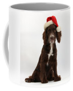 Cocker Spaniel With Santa Hat Coffee Mug