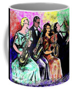 Coed Sax Section Coffee Mug