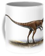 Coelophysis Bauri, A Prehistoric Era Coffee Mug