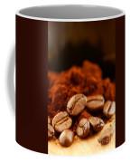 Coffee Beans And Ground Coffee Coffee Mug