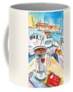 Coffee Break In Heraklion In Crete Coffee Mug
