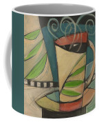 Coffee Cup With Leaves Coffee Mug