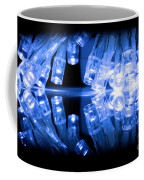 Cold Blue Led Lights Closeup Coffee Mug