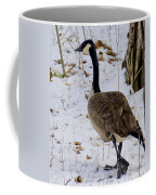 Cold Footed Goose On The Loose Coffee Mug