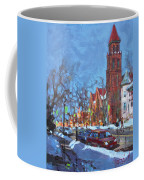 Cold Morning In Elmwood Ave  Coffee Mug