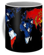 Cold War Map Coffee Mug
