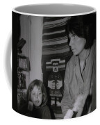 Colette With Mamma Chris In Their Ice Kiosk In Denmark At The Time  Coffee Mug
