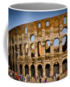 Coliseum Facade Coffee Mug