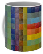 Collage Color Study Sketch Coffee Mug