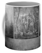 Collage Misty Trees Coffee Mug