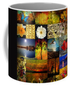 Collage Of Colors Coffee Mug