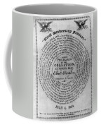 Collation Ticket, 1824 Coffee Mug