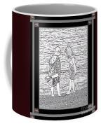 Collecting Seashells By The Seashore Coffee Mug