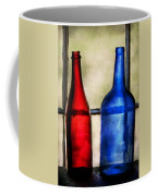 Collector - Bottles - Two Empty Wine Bottles  Coffee Mug