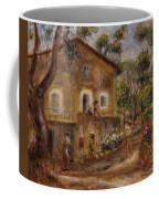 Collette's House At Cagne Coffee Mug