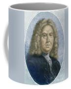 Colley Cibber, English Poet Laureate Coffee Mug