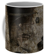 Colonial Fireplace Cooking Arrangement Coffee Mug