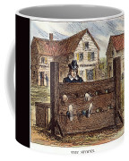 Colonial Stocks Coffee Mug