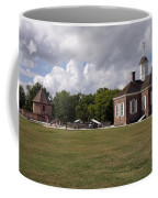 Colonial Williamsburg Scene Coffee Mug