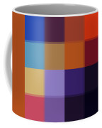 Color Block Colorful I By Madart Coffee Mug by Megan Duncanson