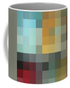 Color Blocking In The Maze II By Madart Coffee Mug by Megan Duncanson