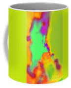 Color Fusion Abstract Coffee Mug